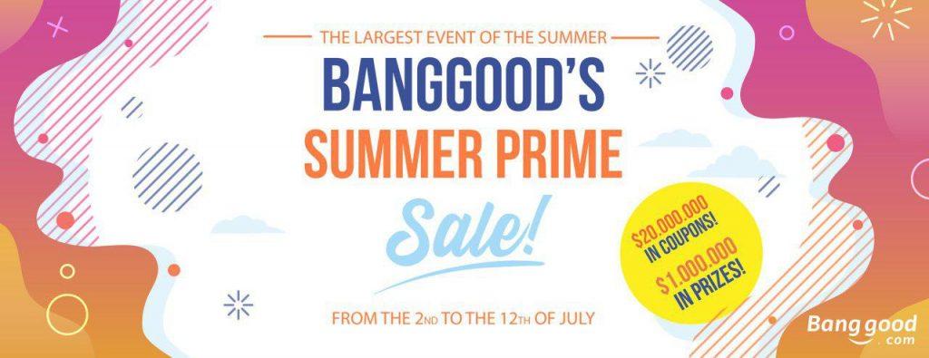 Banggood Summer Prime Sale
